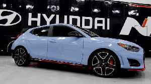 Hyundai Veloster N TCR Road Car Highlights [Video]