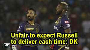 IPL 2019 | Unfair to expect Russell to deliver each time: DK [Video]