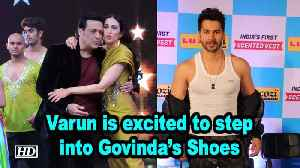 Varun is 'Uncontrollably Excited' to step into Govinda's Shoes | Coolie No.1 [Video]