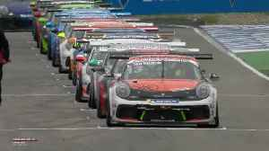 Porsche Carrera Cup Deutschland, race 1, Hockenheim [Video]
