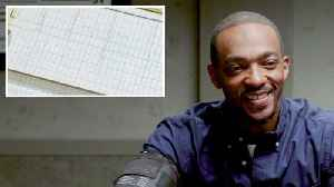 Anthony Mackie Takes a Lie Detector Test [Video]
