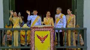 News video: Thai King's coronation celebrated with 300 drone light show