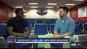 Paxton Boyd goes 1-on-1 with Bills RB Devin Singletary [Video]