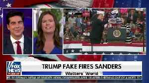 Sarah Sanders on fake firing by Trump [Video]