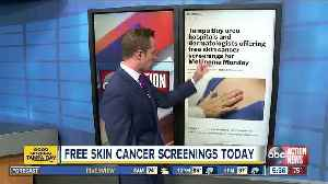 Tampa Bay area hospitals and dermatologists offering free skin cancer screenings for Melanoma Monday [Video]