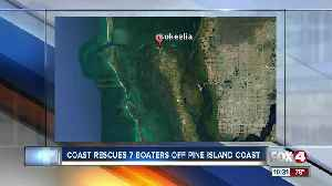 Coast Guard assists seven boaters near Pine Island Saturday [Video]