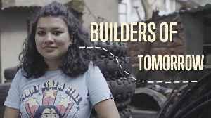Builders of Tomorrow: Turning Tires Into Home Design [Video]