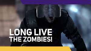 Great news for Zombie fans! [Video]