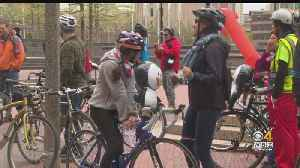 Boston Cyclists Hold Rally To Pressure City Hall For Safer Bike Lanes [Video]