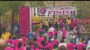 'Sea Of Pink' At Sixth Annual Step Up For Colleen 5K Honors Slain Teacher [Video]