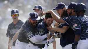 Padres beat Dodgers in walk-off fashion to close series [Video]
