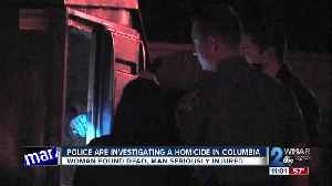 Police find dead woman, severely injured man inside Columbia apartment [Video]