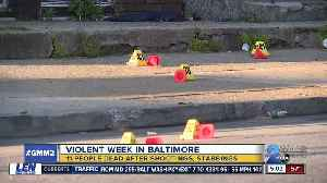 Communities stand against uptick in gun violence in Baltimore [Video]