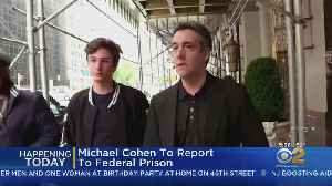 News video: Michael Cohen To Report To Prison Today