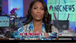 News video: Former White House Aide Omarosa Says Trump Administration Destroyed Evidence Meant for the Mueller Investigation