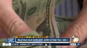 Making it in San Diego: Millenials are racking up both debt and savings [Video]