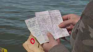 Michigan Women Find Messages in a Bottle Written the Day Before 9/11 [Video]