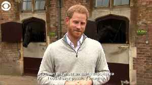 WEB EXTRA: Prince Harry On Birth Of Son [Video]