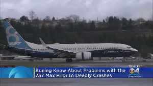 Boeing Knew About Problems With The 737 Max [Video]