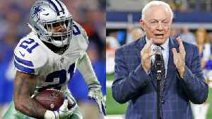 Could running back Ezekiel Elliott hold out on the Dallas Cowboys? [Video]