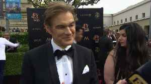 Dr. Oz At The Daytime Emmy Awards [Video]