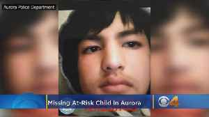 Missing At-Risk Child: 12-Year-Old Boy With Intellectual Disability Last Seen On Thursday [Video]