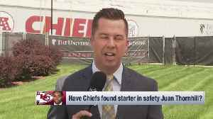 NFL Network's James Palmer breaks down playing-time expectations for Kansas City Chiefs rookies Mecole Hardman, Juan Thornhill [Video]