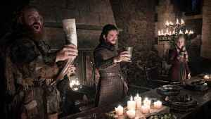 'Game of Thrones' Fans Distracted by Accidental Coffee Cup In Latest Episode | THR News [Video]