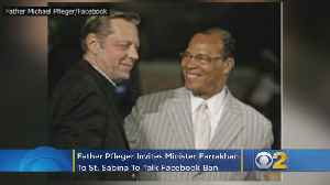 Father Pfleger Invites Minister Farrakhan To St. Sabina To Talk Facebook Ban [Video]