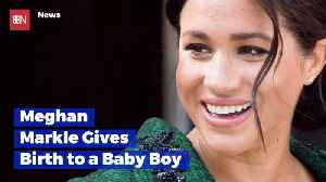 Meghan Markle Gives Birth To Her First Child [Video]