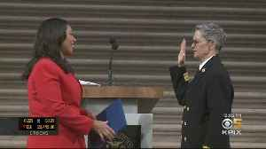 NEW FIRE CHIEF: Jeanine Nicholson sworn in as San Francisco's new fire chief [Video]
