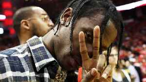 Travis Scott's Alleged Side Chick Crashed His Birthday Party! [Video]