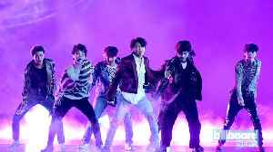 BTS' 'Boy With Luv' Feat. Halsey Jumps to No. 22 on Pop Songs Airplay Chart | Billboard News [Video]