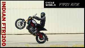 2019 Indian FTR 1200 S   First Ride Review [Video]