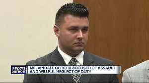 Melvindale police sergeant pleads no contest to assault, willful neglect of duty [Video]