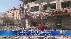Israeli Army Lifts Restrictions, Cease-Fire Reached With Gaza [Video]