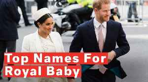 What Will Meghan Markle And Prince Harry Name Their Royal Baby? [Video]