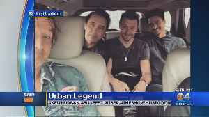 Trending: Keith Urban's Uber Ride From Miami To West Palm Beach [Video]