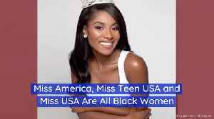 Beautiful Black Women Own The Beauty Pageants This Year [Video]