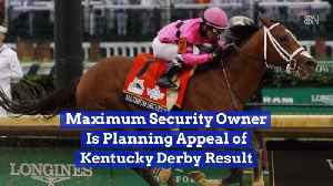 'Maximum Security' Owner Contests Kentucky Derby Ruling [Video]