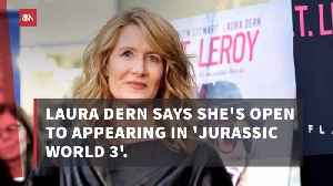 News video: Laura Dern Could Be In Jurassic World 3