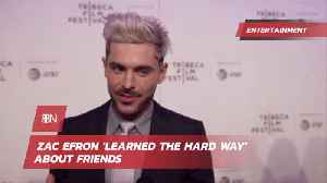 Zac Efron And Shady Friends [Video]