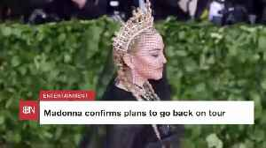 Madonna Is Headed Out On Tour Again [Video]