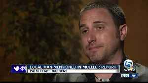Local man mentioned in Mueller report [Video]