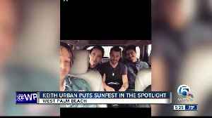 Keith Urban's wild night at SunFest goes viral, gives concert national attention [Video]