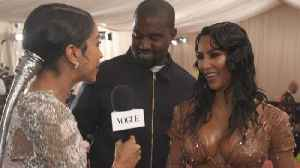Kim Kardashian West and Kanye West on Kim's Ocean-Soaked Met Look [Video]