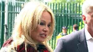 Emotional Pamela Anderson visits Julian Assange in Prison [Video]