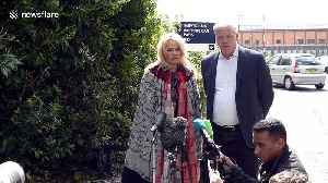 Pamela Anderson visits Julian Assange at London's Belmarsh Prison [Video]