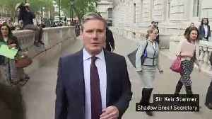 Starmer: Labour seeking 'significant changes' to Brexit deal [Video]