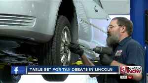 Tax debate set for Tuesday in Lincoln [Video]